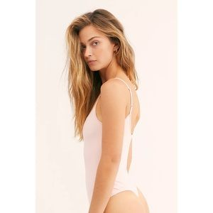 NWT Free People Strappy Basique Bodysuit S Ballet